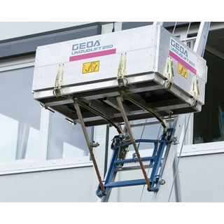 Geda moving lift 250 Perfect Luxury 18.3m, Möbellift
