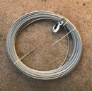 GEDA replacement rope steel cable 43 m with hooks