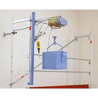 Geda Star 200 standard rope lift 50m scaffold lift